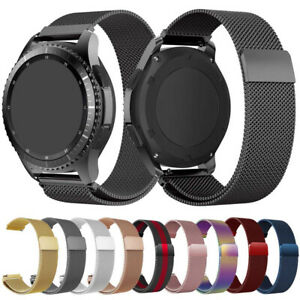 For Samsung Galaxy Watch 3 41mm 45mm Magnetic Clasp Milanese Loop Watch Band