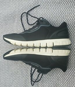 Cole Haan Grandsport Flex Sneaker BLACK/IVORY Men's Size 11.5 Style #C30699