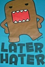 DOMO  Later Hater T-shirt Size Mens L Short Sleeve