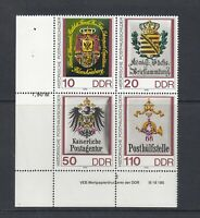 DDR Zusammendruck - Mi-Nr. 3306-3309 DV - Druckvermerk ** postfrisch