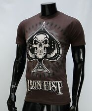 Iron Fist Company Dealer Brown Mens T shirt Size Small