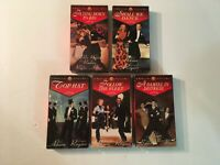 RKO FRED ASTAIRE-GINGER ROGERS COLLECTION - DIGITALLY REMASTERED - 5 VHS TAPES