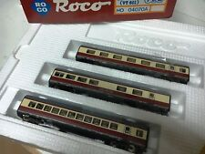 Roco HO art. 04070A carrozze TEE TRANS EUROPE EXPRESS