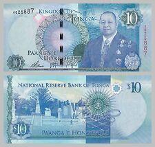 Tonga 10 Pa'anga 2015 unz.