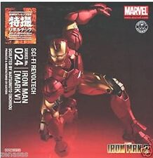New Kaiyodo Tokusatsu Revoltech No.24 Iron Man Mark 6 Pre-Painted
