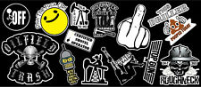 13 Roughneck Vinyl Sticker Pack #1
