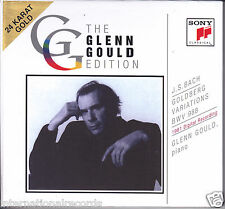 Glenn Gould JS Bach Goldberg Variations BWV 988 Numbered #0032 Japan 24k Gold CD