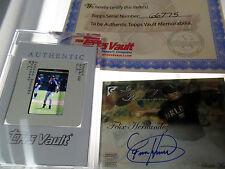 Ichiro 1/1 LOT Felix Hernandez RC autograph auto TOPPS Vault Factory NEG signed