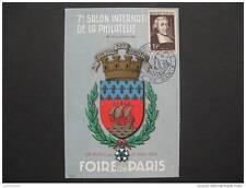FDC: jean-Baptiste DE LA SALLE foire de Paris 1951