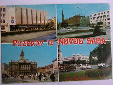 Novog Sada Vtg. 79 YUGOSLAVIA Postcard Rare STAMP