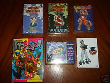 Card Game Lot of 6 Different Family Games & Anime all Cards Decks are Brand New