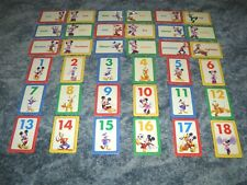 Disney Junior Mickey Mouse Clubhouse Numbers & Counting Learning Game Cards