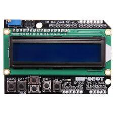 Teclado Lcd Shield Para Arduino retroiluminación módulo Azul 16x2 Pantalla Hd44780 1602