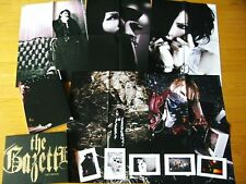 the GazettE LIMITED ART BOOK POSTERS POSTCARDS JAPAN RUKI URUHA AOI REITA KAI