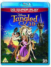 Tangled (3D Blu-ray, 2012, 2-Disc Set)