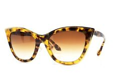 DITA Von Teese Tryst 305 B TKT Gold Sunglasses New Authentic 53-19-145