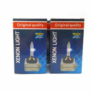 2x D1S D2S 5000K 6000K 8000K HID Replacement Xenon Headlight Light Bulbs Lamps