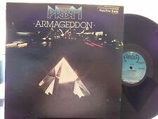 *PROMO*PRISM ARMAGEDDOM ON ARIOLA  RECORDS LYRIC INNER SLEEVE