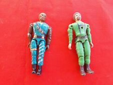Bundle 2x Figurines Gi Joe Action Figure Military Soldier Lanard 90'S Old Toys