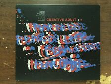 CREATIVE ADULT FEAR OF LIFE CD USED LIKE NEW 2016 RUN FOR COVER RECORDS