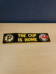 Providence Bruins Reds The Cup Is Home Bumper Sticker Boston Affiliate Team