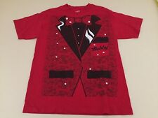 Bobby the Brain Heenan L Large T Shirt WWE Hall of Fame Red Jacket theme NXT WWF