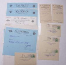 1932 Lamson Goodnow W G Morton Anthracite Albany NY Post Cards Ephemera P052C