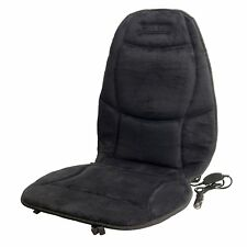 Heated Back Massage Chair Cushion Massager Car Seat Home Pain Lumbar 12v Heat