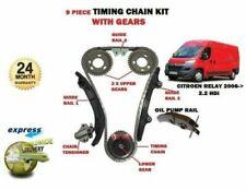Carter /& Seal 2006-14 Peugeot Boxer 2.2 Hdi 16V Kit Chaîne Distribution Diesel