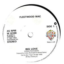"Fleetwood Mac - Big Love - 7"" Record Single"