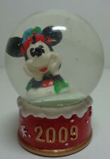 2009 Disney Minnie Mouse JC Penney Black Friday Mini Snowglobe Snowflake Hat