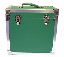 """Steepletone SRB-2 Lp Vinilo Disco Retro Caja de almacenamiento tiene 50 12""""LPs - Verde"""