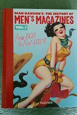 The history of mens magazines volume 1. Taschen books. Hardback.