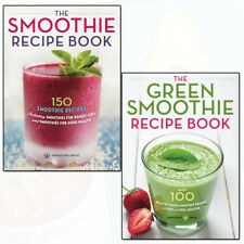 Smoothie Recipe, Green Smoothie Recipe Collection 2 Books Set by Mendocino Press