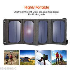 Suaoki 5V/1A 7W Solar Phone Charger Portable Solar Collector Solar Panel USB US