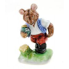 Hungarian Porcelain Herend Bear Figurine with Honey Jar