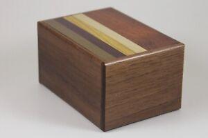 Natural Wood Japanese Puzzle Box - 12 Step