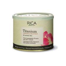 Rica Cera Liposolubile Titanio 400 ml