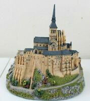 Danbury Mint Enchanted Castles Europe Mont Saint Michel