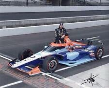 JR Hildebrand autographed 2020 Indy 500 8x10 photo