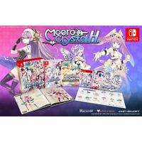 Moero Crystal H Collector's Limited Edition Nintendo Switch + Soundtrack Sticker