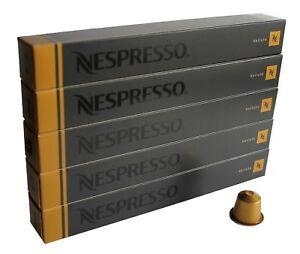 50 ORIGINAL NESPRESSO COFFEE CAPSULES PODS - VOLLUTO (Intensity: 4)