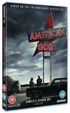 AMERICAN GODS 1  (2017): Fantasy/Drama TV Season Series -  NEW UK DVD not US