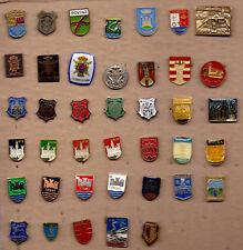 40 different pins pin badge Coat of Arms City towns crests Cast Croatia Hrvatska