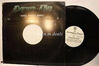 "Turn It Out - Jermaine Dupri, Single, PROMO LP Vinyl 12""(VG)"