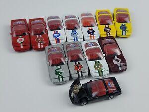 Vintage Corgi NFL Football Corvette die cast car lot of 12 Different Teams