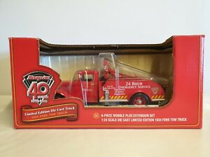 Snap-On 1934 Ford Tow Truck Limited Edition 40th Anniversary 1:24 Diecast
