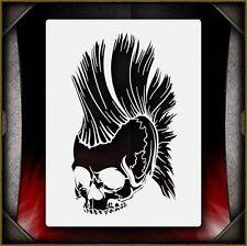 Skull 32 Airbrush Stencil Template Airsick