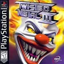 Twisted Metal III (Sony PlayStation 1, 1998)