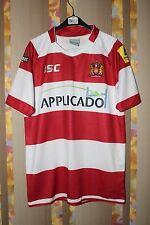 WIGAN WARRIORS HOME RUGBY SHIRT (S) JERSEY TOP TRIKOT MAILLOT MAGLIA